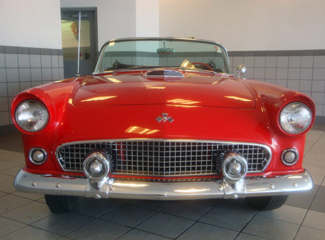 1955 Ford Thunderbird 292 CI, 3-Speed presented as lot F48 at St. Charles, IL 2011 - image4