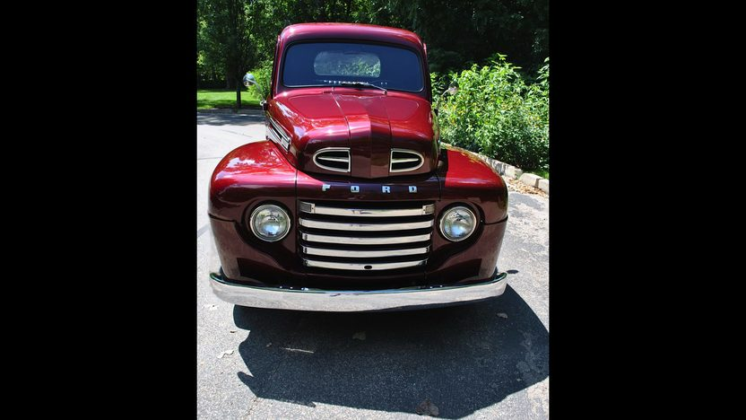 1949 Ford F1 Pickup 239 CI presented as lot F53 at St. Charles, IL 2011 - image3