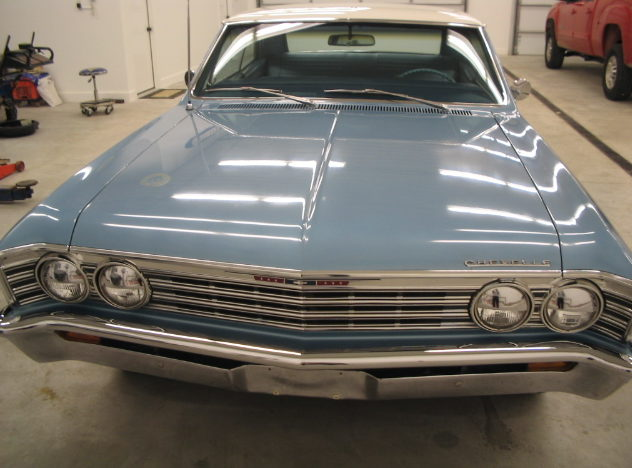 1967 Chevrolet Malibu 283 CI, Automatic presented as lot F67 at St. Charles, IL 2011 - image2