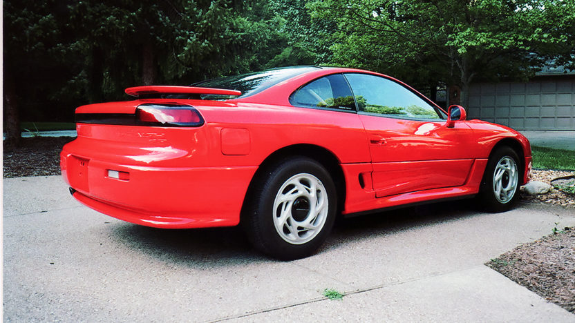 1991 Dodge Stealth GT 3.0/222 HP, Automatic presented as lot F68 at St. Charles, IL 2011 - image3