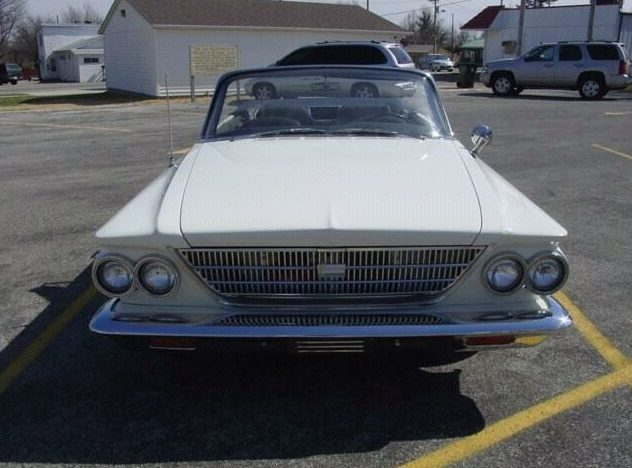 1963 Chrysler  Convertible 400/260 HP, Automatic presented as lot F86 at St. Charles, IL 2011 - image2
