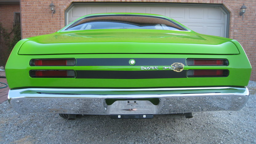 1970 Plymouth Duster 2-Door Hardtop 340/265 HP, 3-Speed presented as lot F92 at St. Charles, IL 2011 - image4