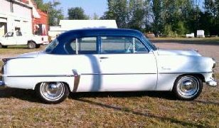 1954 Plymouth Savoy 350 CI, Automatic presented as lot F93 at St. Charles, IL 2011 - image2