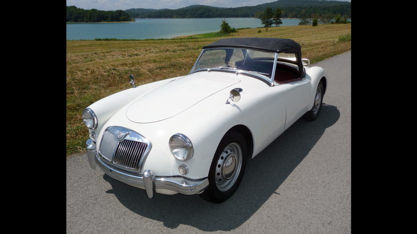1959 MG A Convertible 1500 CC, 4-Speed presented as lot F103 at St. Charles, IL 2011 - image2