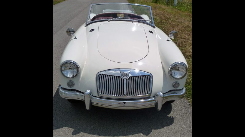 1959 MG A Convertible 1500 CC, 4-Speed presented as lot F103 at St. Charles, IL 2011 - image3