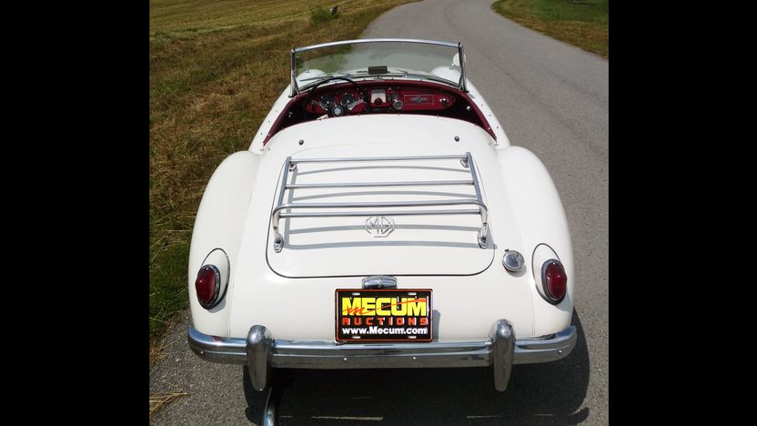 1959 MG A Convertible 1500 CC, 4-Speed presented as lot F103 at St. Charles, IL 2011 - image4