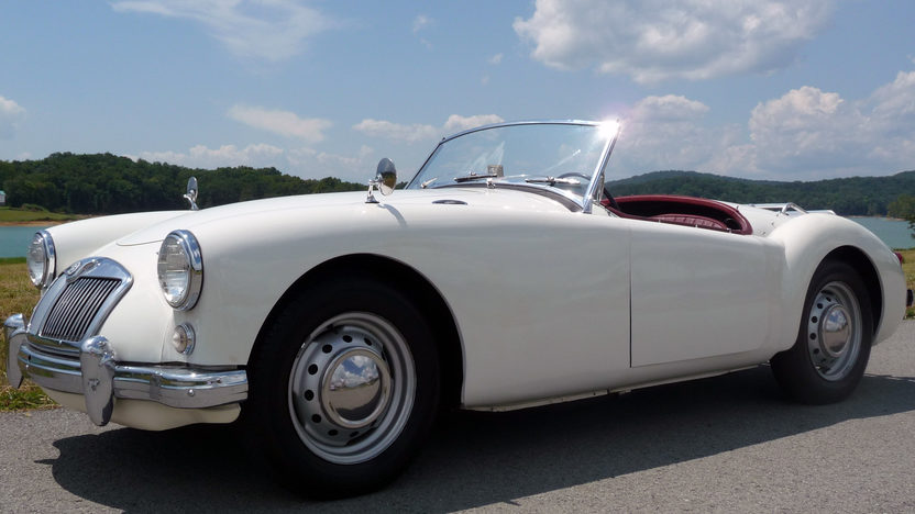 1959 MG A Convertible 1500 CC, 4-Speed presented as lot F103 at St. Charles, IL 2011 - image7