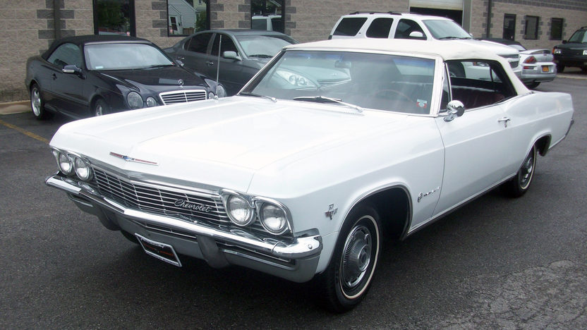 1965 Chevrolet Impala Convertible 327 CI, Automatic presented as lot F109 at St. Charles, IL 2011 - image3