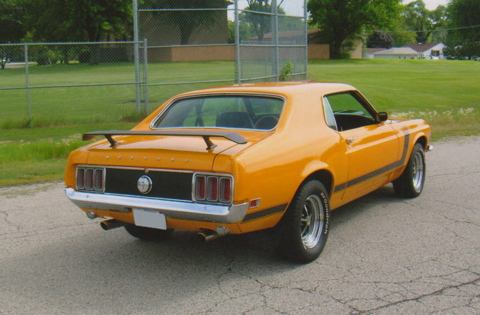 1970 Ford Mustang 302 CI, Automatic presented as lot F118 at St. Charles, IL 2011 - image2