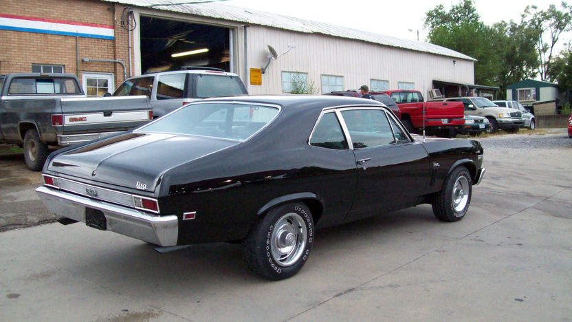 1969 Chevrolet Nova 396 CI, Automatic presented as lot F125 at St. Charles, IL 2011 - image2