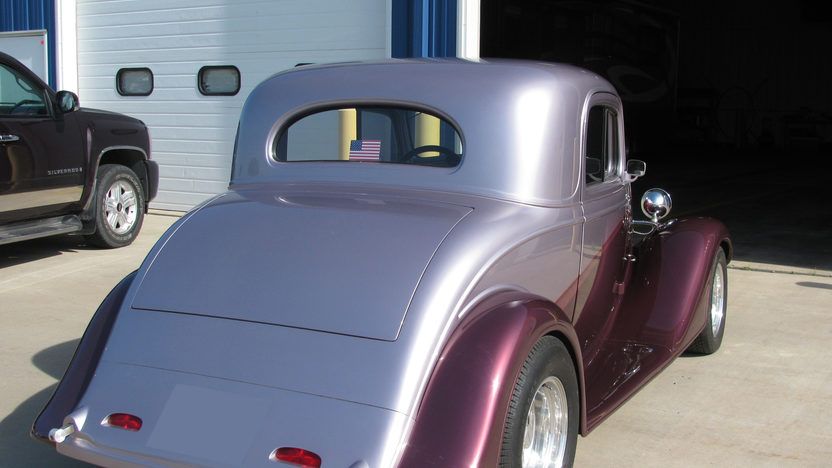 1935 Chevrolet 3 Window Coupe 383/425 HP presented as lot F128 at St. Charles, IL 2011 - image2