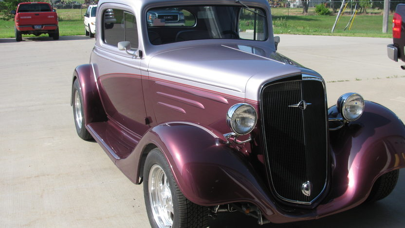 1935 Chevrolet 3 Window Coupe 383/425 HP presented as lot F128 at St. Charles, IL 2011 - image3