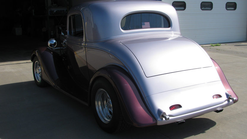 1935 Chevrolet 3 Window Coupe 383/425 HP presented as lot F128 at St. Charles, IL 2011 - image4