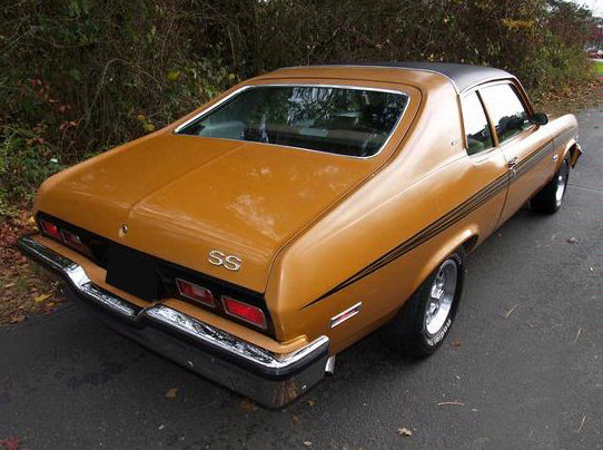 1973 Chevrolet Nova SS Hatchback 307 CI, Automatic presented as lot F143 at St. Charles, IL 2011 - image3