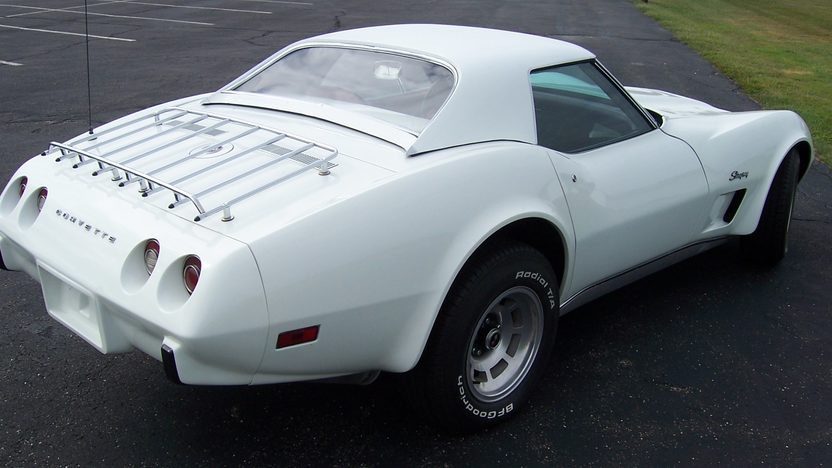 1975 Chevrolet Corvette Convertible 350/185 HP, 4-Speed presented as lot F131 at St. Charles, IL 2011 - image3