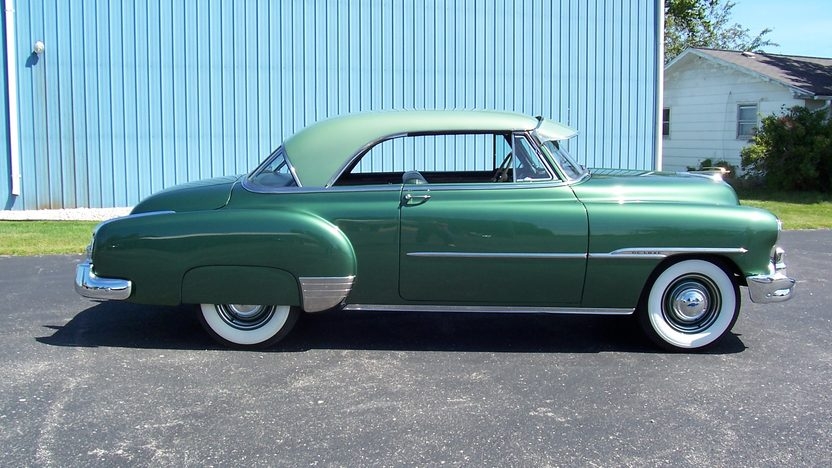 1951 Chevrolet  2-Door Hardtop 216 CI, Automatic presented as lot F135 at St. Charles, IL 2011 - image2