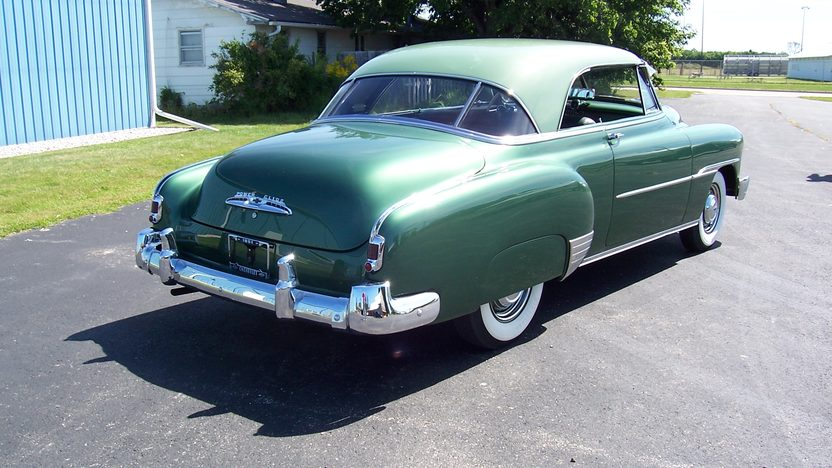 1951 Chevrolet  2-Door Hardtop 216 CI, Automatic presented as lot F135 at St. Charles, IL 2011 - image3