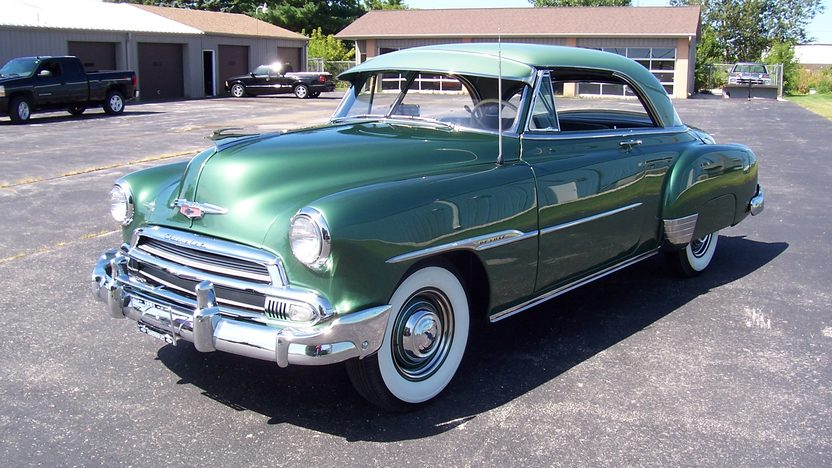 1951 Chevrolet  2-Door Hardtop 216 CI, Automatic presented as lot F135 at St. Charles, IL 2011 - image4