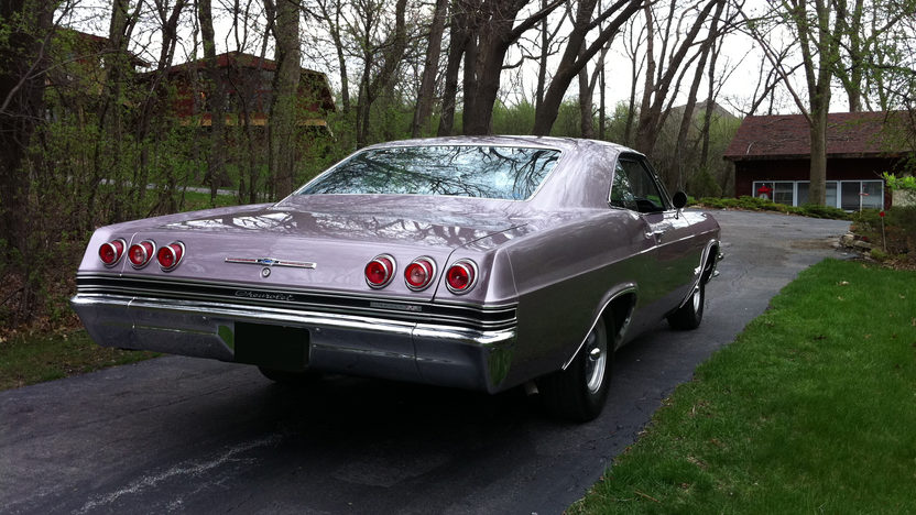 1965 Chevrolet Impala SS Sport Coupe 396 CI, Automatic presented as lot F138 at St. Charles, IL 2011 - image2