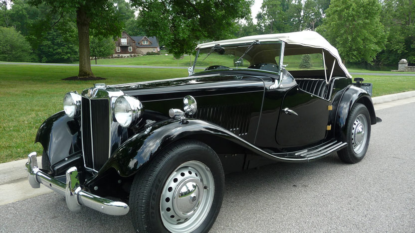 1951 MG TD Convertible 4-Speed presented as lot F142 at St. Charles, IL 2011 - image3