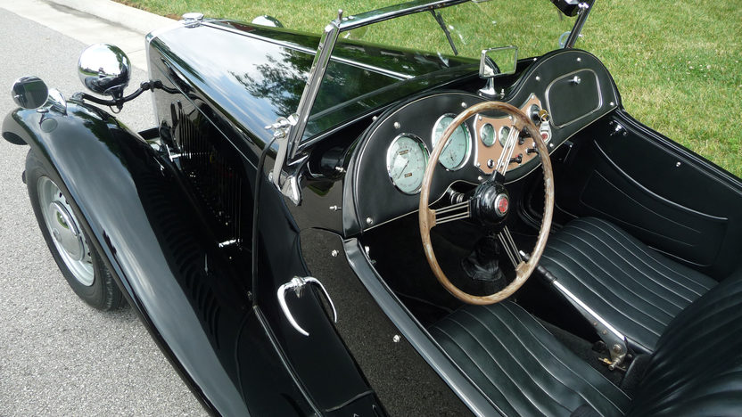 1951 MG TD Convertible 4-Speed presented as lot F142 at St. Charles, IL 2011 - image4