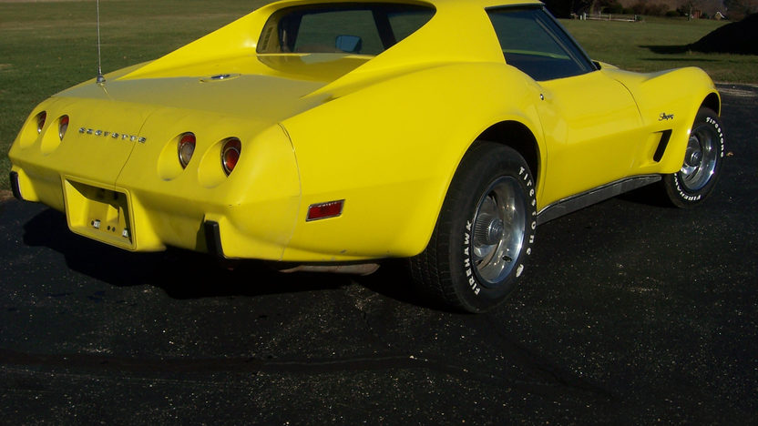 1975 Chevrolet Corvette 350/185 HP, Automatic presented as lot F145 at St. Charles, IL 2011 - image2
