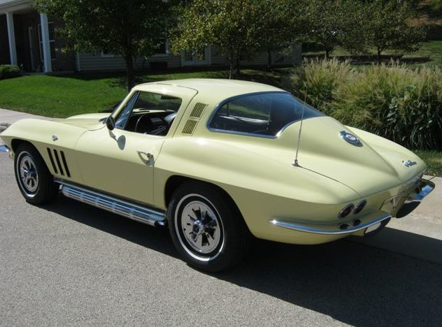 1965 Chevrolet Corvette Coupe 350 CI, 4-Speed presented as lot F150 at St. Charles, IL 2011 - image3