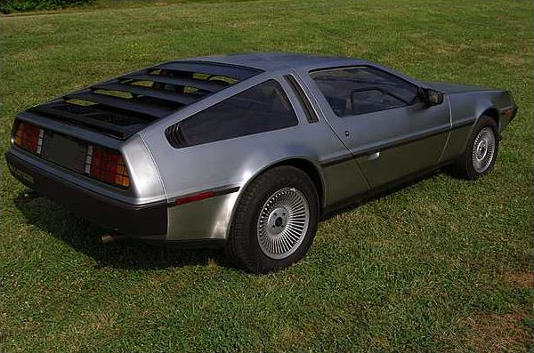 1981 Delorean DMC-12 5-Speed presented as lot F159 at St. Charles, IL 2011 - image2