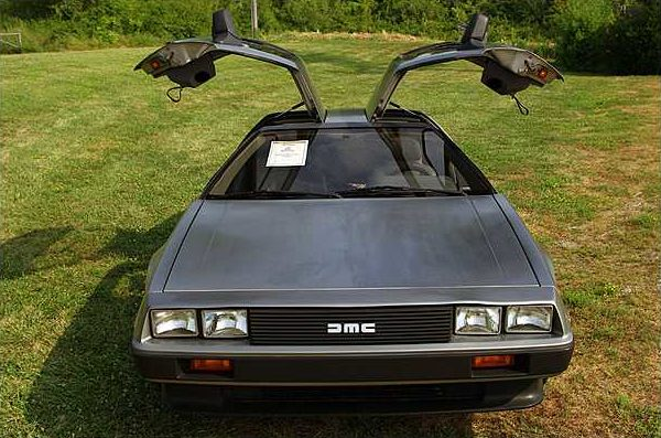 1981 Delorean DMC-12 5-Speed presented as lot F159 at St. Charles, IL 2011 - image3