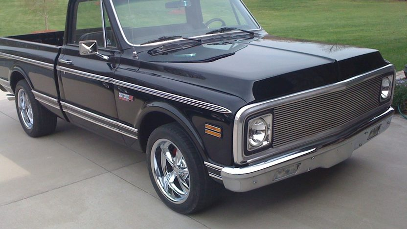 1971 Chevrolet Short Box Pickup 454 CI, Automatic presented as lot F161 at St. Charles, IL 2011 - image3