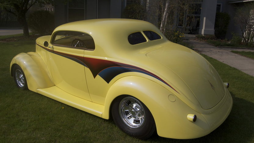 1937 Ford 5 Window Coupe 350/355 HP, Automatic presented as lot F168 at St. Charles, IL 2011 - image2