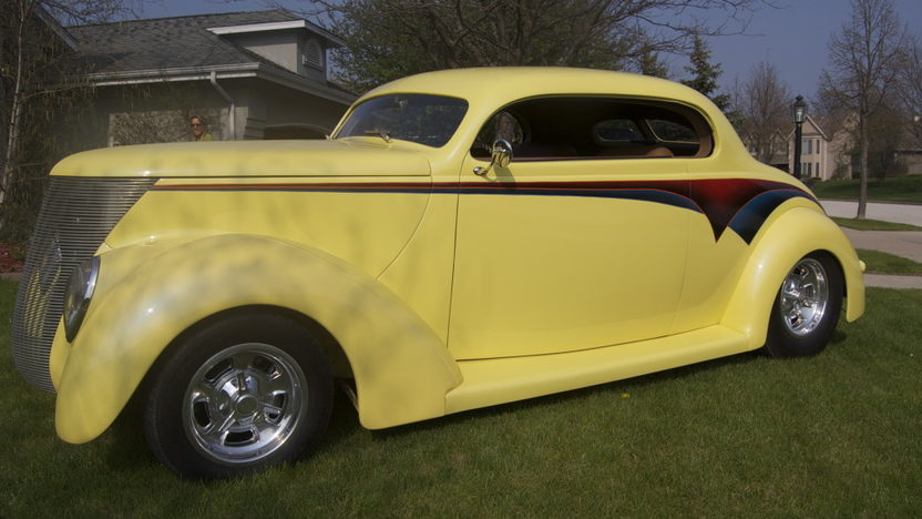 1937 Ford 5 Window Coupe 350/355 HP, Automatic presented as lot F168 at St. Charles, IL 2011 - image3