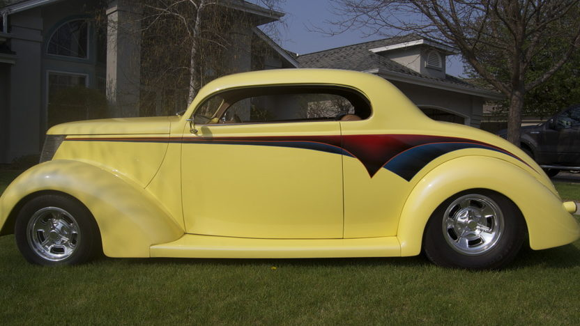 1937 Ford 5 Window Coupe 350/355 HP, Automatic presented as lot F168 at St. Charles, IL 2011 - image8
