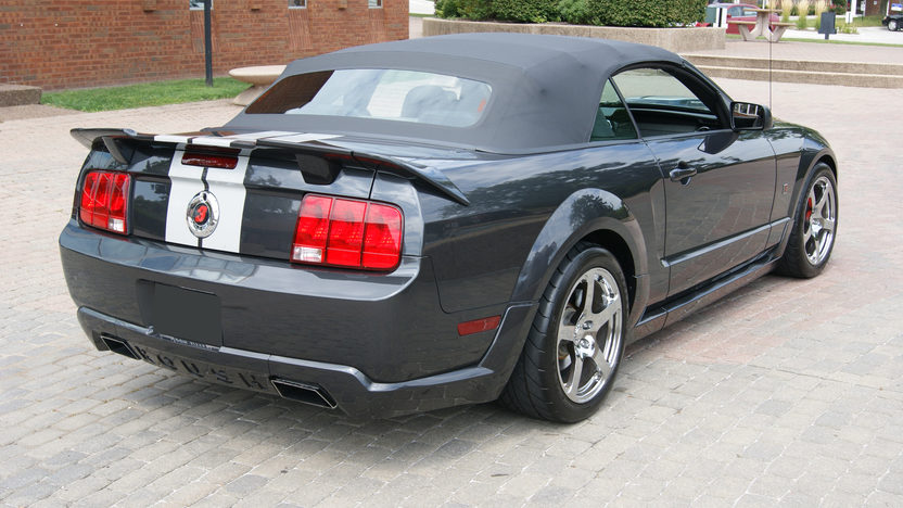 2007 Ford Mustang GT Roush Convertible 4.6/415 HP, 5-Speed presented as lot F170 at St. Charles, IL 2011 - image2