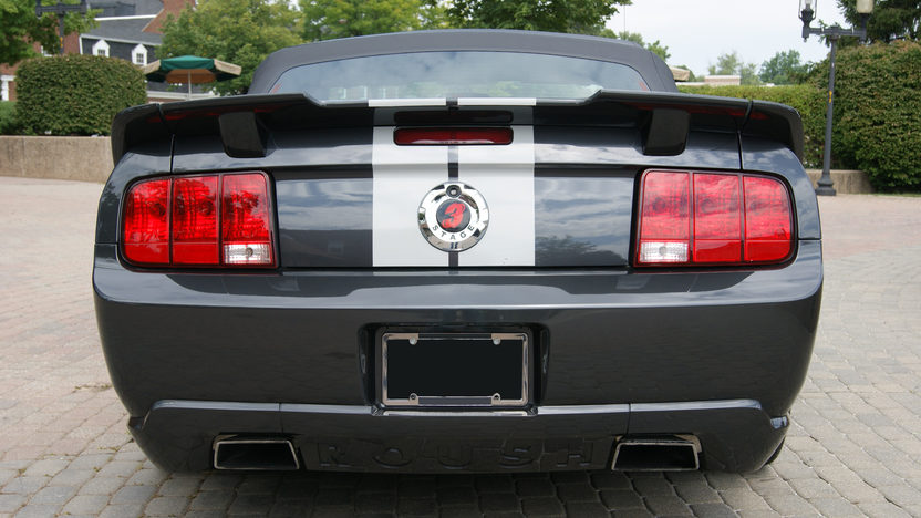 2007 Ford Mustang GT Roush Convertible 4.6/415 HP, 5-Speed presented as lot F170 at St. Charles, IL 2011 - image3