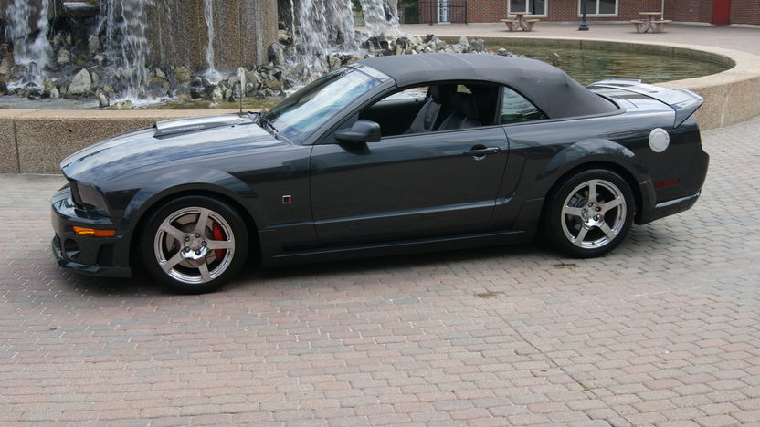 2007 Ford Mustang GT Roush Convertible 4.6/415 HP, 5-Speed presented as lot F170 at St. Charles, IL 2011 - image5
