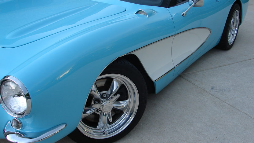2003 Chevrolet Corvette 1957 Conversion LS1, 6-Speed presented as lot F282 at St. Charles, IL 2011 - image2