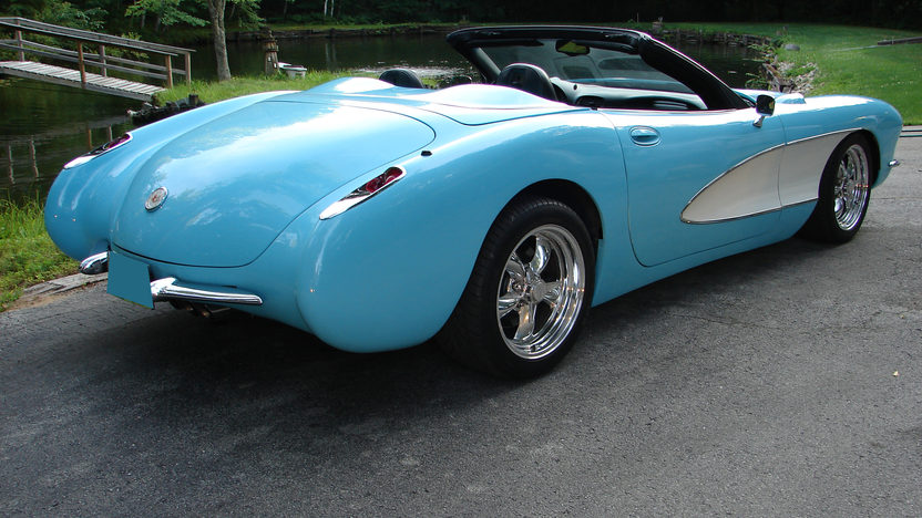 2003 Chevrolet Corvette 1957 Conversion LS1, 6-Speed presented as lot F282 at St. Charles, IL 2011 - image4