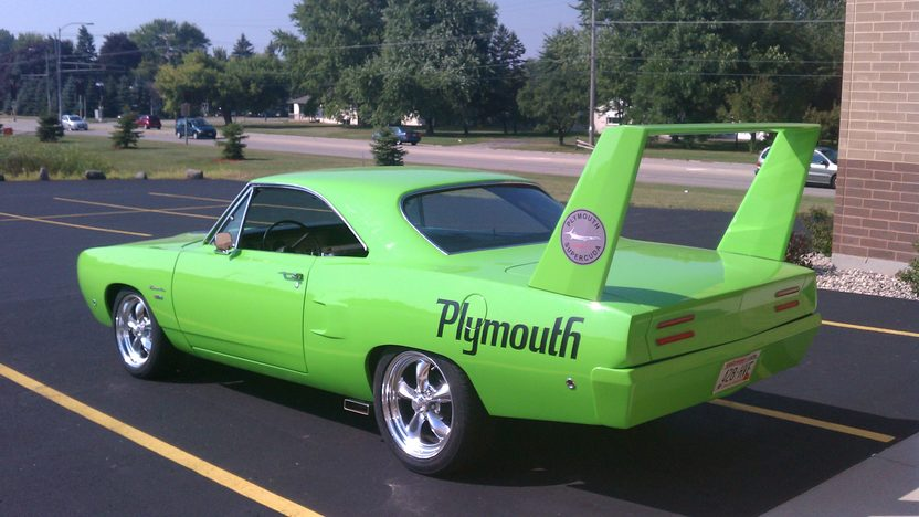 1968 Plymouth Barracuda Coupe 440 CI, Automatic presented as lot F286 at St. Charles, IL 2011 - image3