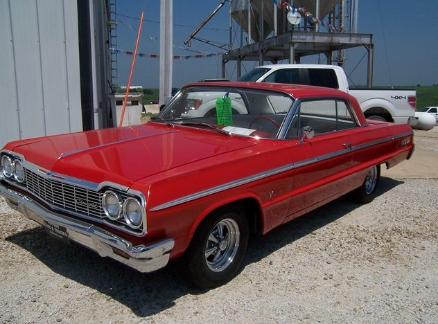 1964 Chevrolet Impala SS 2-Door Hardtop 283 CI, Automatic presented as lot F290 at St. Charles, IL 2011 - image2