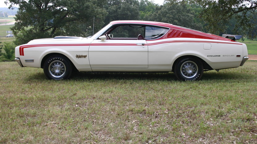 1969 Mercury Cyclone 351 CI, Automatic presented as lot F178 at St. Charles, IL 2011 - image8