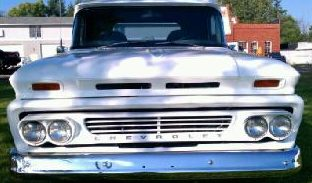 1962 Chevrolet C10 Pickup 350 CI presented as lot F181 at St. Charles, IL 2011 - image5