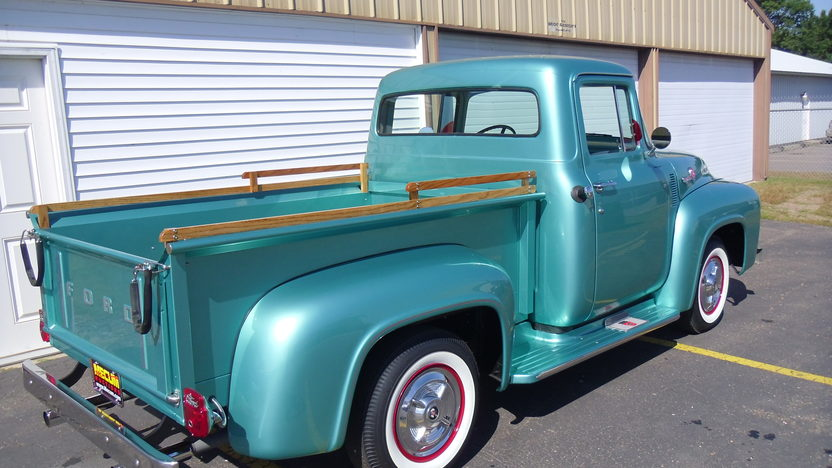 1956 Ford F100 Pickup 460 CI, Automatic presented as lot F185 at St. Charles, IL 2011 - image2