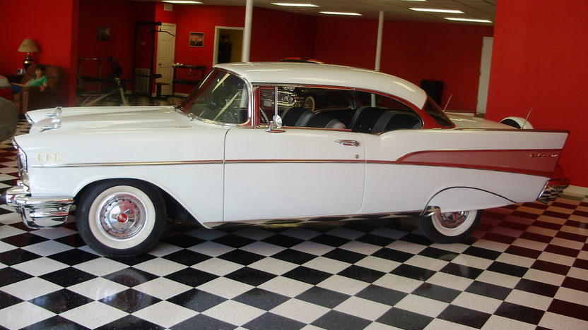 1957 Chevrolet Bel Air 2-Door Hardtop presented as lot F188 at St. Charles, IL 2011 - image3