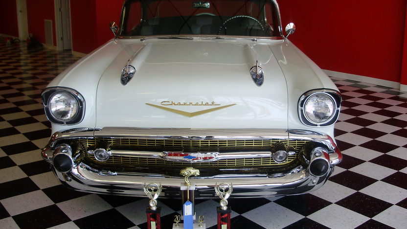 1957 Chevrolet Bel Air 2-Door Hardtop presented as lot F188 at St. Charles, IL 2011 - image6
