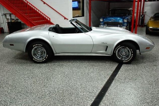 1975 Chevrolet Corvette Convertible 350 CI, 4-Speed presented as lot F191 at St. Charles, IL 2011 - image2