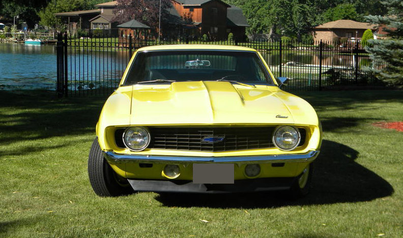 1969 Chevrolet Camaro ZL1 Replica 427/430 HP presented as lot F194 at St. Charles, IL 2011 - image2