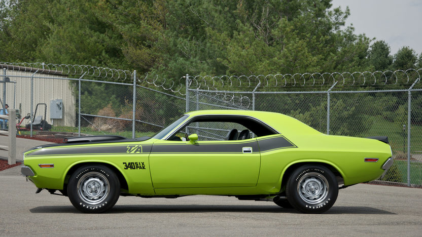 1970 Dodge Challenger T/A 340 Six Pack, 4-Speed presented as lot F195 at St. Charles, IL 2011 - image3