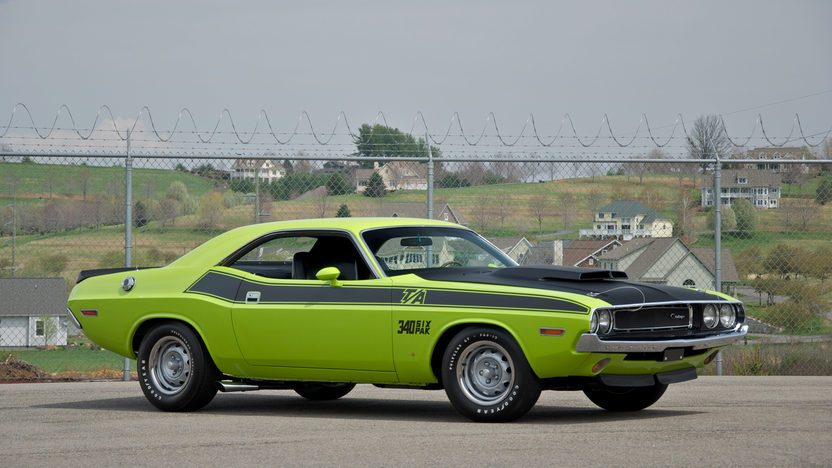 1970 Dodge Challenger T/A 340 Six Pack, 4-Speed presented as lot F195 at St. Charles, IL 2011 - image8