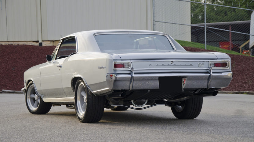 1966 Chevrolet Chevelle 502 Resto Mod 502 CI, 6-Speed presented as lot F196 at St. Charles, IL 2011 - image2